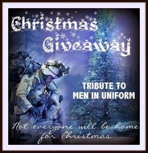 Gratitude Giveaway Winner Announced & Christmas Giveaway Tribute to Men in Uniform